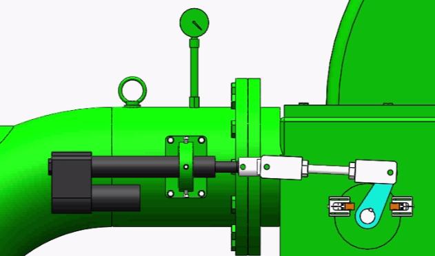 电动推杆折向器